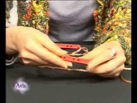 Cómo usar horquilla para tejidos artesanales