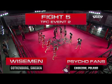 event - This is a short version video of the Fight 5 of the TFC Event 2 Psycho Fans (Chorzow, Poland) vs Wisemen (Gothenburg, Sweden) . The full version video will be available on our site http://www.teams...