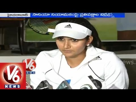 Sania Mirza responds on comments of political leaders on Brand Ambassador of Telangana