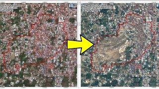 Video Penampakan Foto Satelit di Lokasi 'Likuifaksi' Lumpur Bergerak Pascagempa Palu, Rumah Terseret Tanah MP3, 3GP, MP4, WEBM, AVI, FLV Oktober 2018