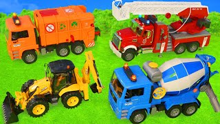 Video Fire Truck, Tractor, Excavator, Garbage Trucks & Police Cars Construction Toy Vehicles for Kids MP3, 3GP, MP4, WEBM, AVI, FLV Mei 2019