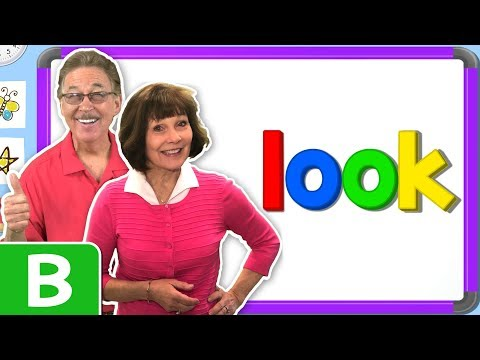 Jan Richardson Sight Words | Level B | Look | Jack Hartmann