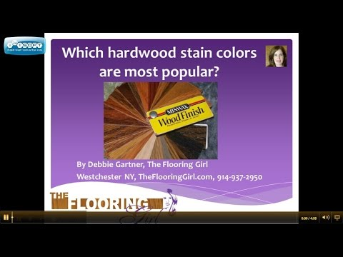 Which stain colors are most popular for hardwood flooring | Westchester NY refinishing