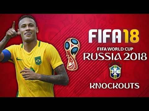 BRAZIL WORLD CUP FINAL DREAM!! BRAZIL WORLD CUP PLAY THROUGH!! FIFA 18 World Cup Mode