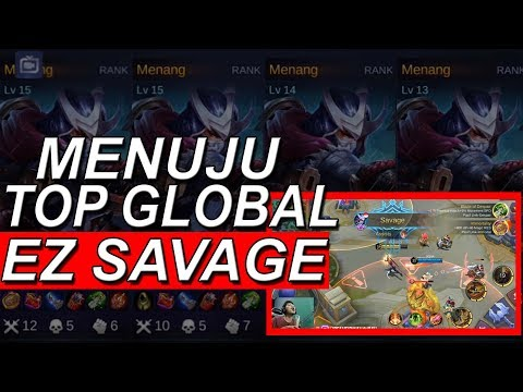 HAYABUSA DI REWORK AUTO WIN EZ SAVAGE GO TOP GLOBAL HAYA !!!