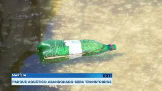Marília: parque aquático serve de criadouro para o mosquito da dengue
