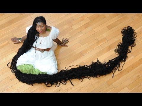 la donna coi capelli più lunghi al mondo