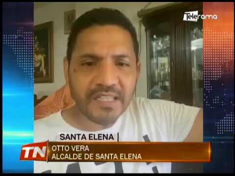 Cuatro comunas de Santa Elena y cantón La Libertad se quedan en rojo