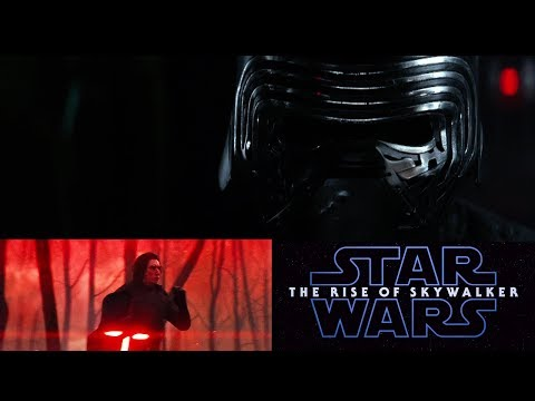 Kylo Ren Reacts to the Star Wars The Rise of Skywalker Teaser