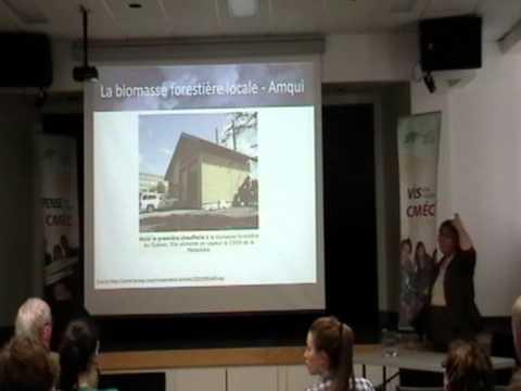 Conférence sur les alternatives énergétiques au gaz et au pétrole de schiste à AMQUI