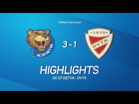 8. forduló: HC07Detva - DVTK Jegesmedvék 3-1