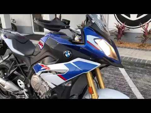 2018 BMW S 1000 XR Premium HP Motorsport Blue, White, Red at Euro Cycles of Tampa Bay