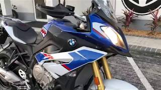 1. 2018 BMW S 1000 XR Premium HP Motorsport Blue, White, Red at Euro Cycles of Tampa Bay