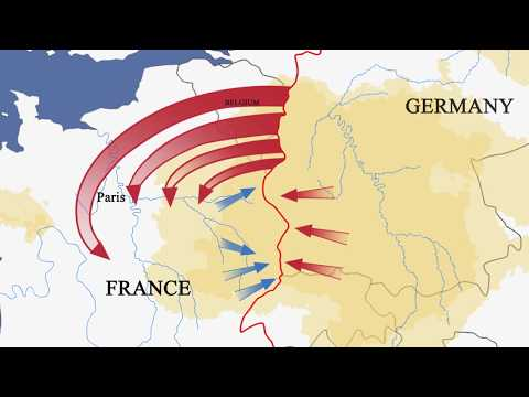 August 1914 – The Battle for France
