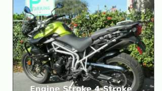 3. 2011 Triumph Tiger 800 ABS - Features and Specification