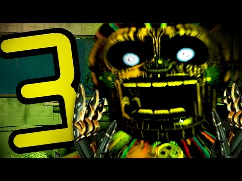 Five Nights At Freddy's 3 – SPOOK YOUR SOCKS OFF! (Night 1, Night 2, Night 3) – Part 1