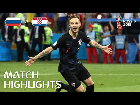Russia v Croatia - 2018 FIFA World Cup Russia™ - Match 59 (видео)