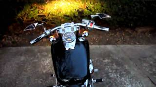 9. Honda Shadow Spirit 750 Lowered