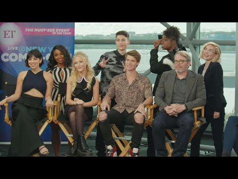 Daybreak Cast | New York Comic Con 2019 (Full Interview)