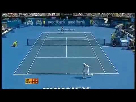 Andreas Seppi  vs Leyton Hewitt – Sydney 2010