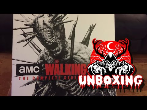 The Walking Dead - The Complete Seventh Season Limited Edition - Unboxing