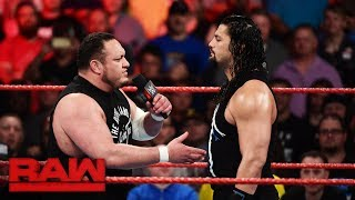 The Big Dog will vie for the Universal Championship at SummerSlam, but who will be his opponent? #RAW More ACTION on...