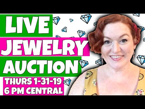 Live Jewelry Auction - YouTube Jewelry Sales Online