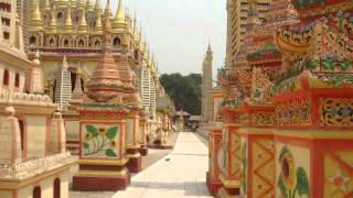 Monywa Myanmar  City pictures : Thanboddhay Pagoda in Monywa (Myanmar)