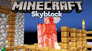Low Key Iron Farm & Mending Trades! • Minecraft 1.15 Skyblock (Tutorial Let's Play) [Part 10]