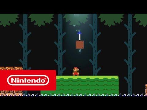 Switch《超級瑪利歐創作家 2》更新介紹影像
