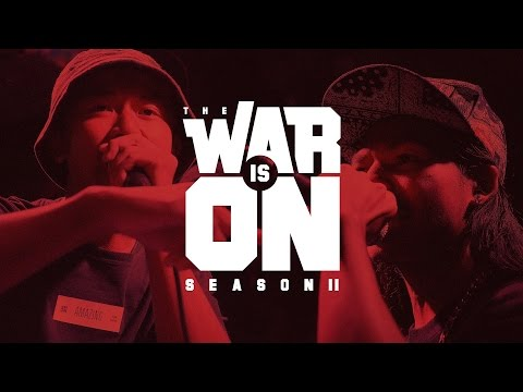 THE WAR IS ON SS.2 EP.1 - MC KING VS AMAZING | RAP IS NOW
