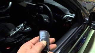 BMW 3 2013modl Serise F30 remote start   (320 Xドライブ リモートスターター)