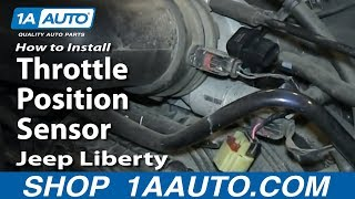 How To Install Replace Throttle Position Sensor 3.7L 2002-06 Jeep Liberty