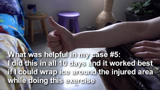 2017-07-01  What caused pain in my extensor pollicis brevis muscle but what I did to recuperate in about 10 days (95% of the pain is gone and can function in a normal way after 10 days).Videos captured by Sony RX100M5Background music: Heartland