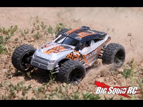 Kyosho - Just a quick video we shot while doing the review of the Kyosho Rage. You can read the full review at http://www.BigSquidRC.com Check it in high-def. This vi...