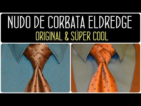 ELDREDGE: Cómo hacer el nudo de corbata Eldredge. How to Tie a Necktie Eldredge Knot (видео)
