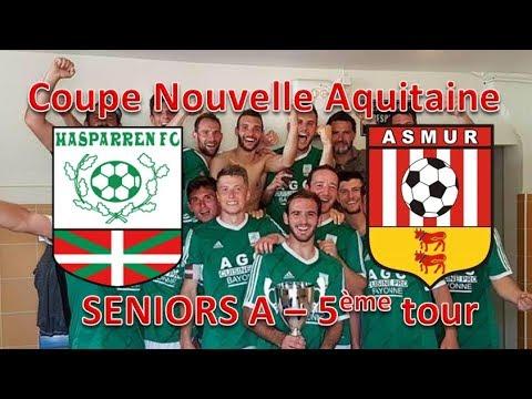 Hasparren F.C. - A.S.M.U.R. 5ème tour coupe Nouvelle Aquitaine