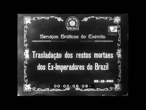 Translado do Imperador Dom Pedro II e da Imperatriz Dona Teresa Cristina