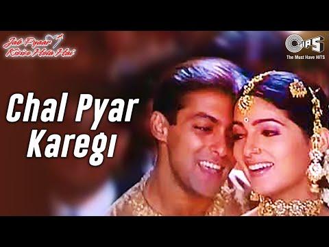 Download Chal Pyar Karegi - Video Song | Jab Pyaar Kisise Hota Hai | Salman Khan & Twinkle | Sonu N & Alka Y HD Mp4 3GP Video and MP3