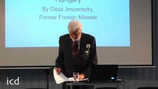 Géza Jeszenszky, Former Foreign Minister of Hungary