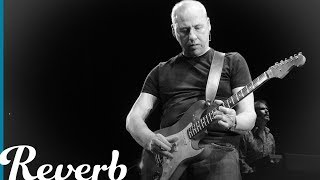 "In the Dire Straits track ""Down to the Waterline"", lead guitarist Mark Knopfler demonstrates what makes him such a special guitarist. In this lesson, Joe examines some of the techniques he uses and power of the chord progression that lies underneath the solo. Check out our other Mark Knopfler lessons at http://bit.ly/2wACoHD"