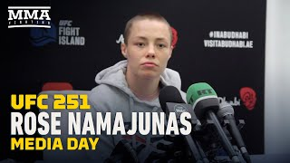 UFC 251: Rose Namajunas Media Day Scrum - MMA Fighting by MMA Fighting