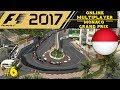 F1 2017 ONLINE MULTIPLAYER | MONACO GRAND PRIX #6