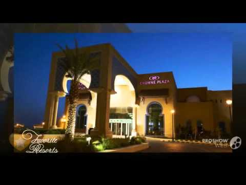 Crowne Plaza Jordan Dead Sea Resort and Spa - Jordan Sowayma (видео)