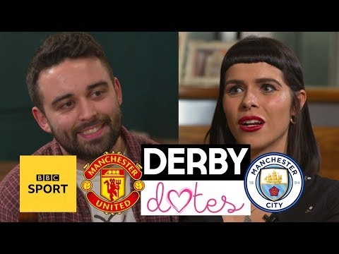 Derby Dates: Man City V Man Utd - Can Love Conquer Football Rivalries? - BBC Sport
