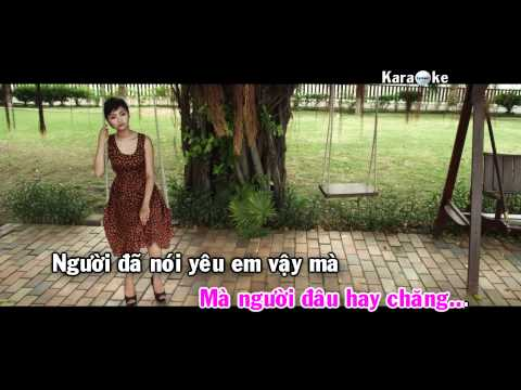 Bài hát karaoke beat Con tim mong manh - Miu Lê full