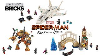 Video Lego Spider-Man Far From Home Compilation of All Sets MP3, 3GP, MP4, WEBM, AVI, FLV Agustus 2019