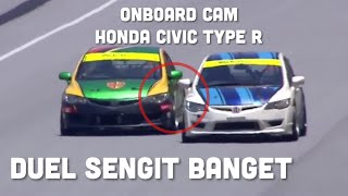 Video DUEL DI SEPANG | OnBoard Cam Civic Type R | MCS Rd 4 2018 | VLOG #52 MP3, 3GP, MP4, WEBM, AVI, FLV November 2018