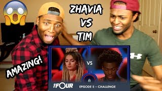 Video Zhavia vs Tim: The Most INTENSE Battle Of The Season - Do Not BLINK! | S1E5 | The Four (REACTION) MP3, 3GP, MP4, WEBM, AVI, FLV Juli 2018