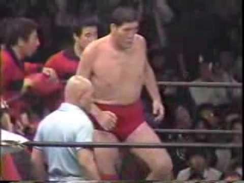 ジャイアント馬場VSスタン・ハンセン 1982年4月22日 PWF戦